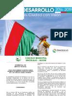 Plan de Desarrollo Municipal 2016 - 2019 SINCELEJO.pdf
