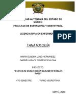 Tanatologia Etapas de Duelo