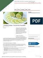 11 Benefícios do Pepino - Para Que Serve e Propriedades
