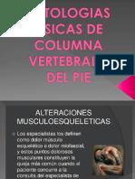 Patologias Fisicas de La Columna