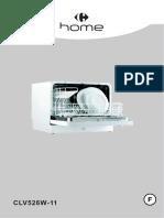 Carrefour Home Clv526w-11 Clv526w.11 Clv526w11 Notice