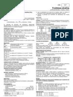 Determinacion Cuantitativa de Fosfatasa Alcalina