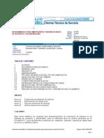 NS-035-V.3.1 Requerimientos de Cimentación de Tuberías