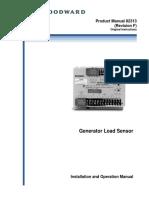 woodward generator load sensor