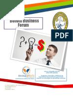 Información General Congreso Business Forum 2019