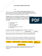 Diagramacion para pagina web