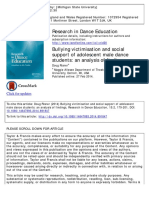 Risner, 2014. Bullying victimisation and social support of adolescent male dance students.pdf
