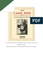 Louis-Ferdinand Céline - Casse-pipe Et Carnet Du Cuirassier Destouches (1913)