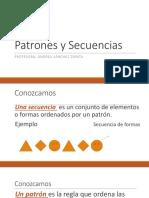 PPT - Patrones y Secuencias