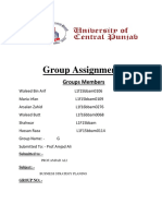Hashwani Group Assignment