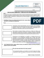 S3- TALLER 3 Selección, Análisis y Recojo de Información