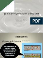 Seminario Lubricación y Filtración