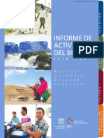 Informe de Actividades Del Bienio 2016 2017