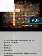 Teologia Joanina