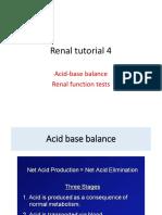 4acid Base Balance and Renal Function Tests - Copy