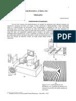 Texto 1.1.1 - Interferometro de Michelson