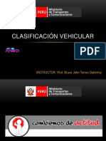 Clasificación Vehicular 2014-2