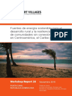 WR28 Sustainable Energy Sources for Rural Development and Climatic Resilience of Off Grid Communities in Central America the Caribbean and Mexico Web 2