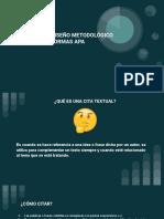 ¿Cómo Citar_ y Diseño Metodológico Aplicando Las Normas Apa