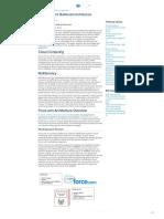 Multi Tenant Architecture - Developer.force.com