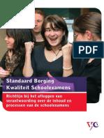 VO Raad Standaard Schoolexamens.def