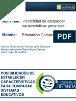 Características Generales Educación Comparada