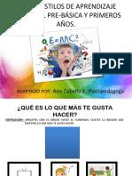 TEST DE ESTILOS DE APRENDIZAJE EN PPT APLICACIÓN MASIVA..pptx