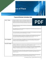 curriculum links- place