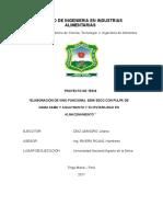Proyecto Vino Camu Camu -Aguaymanto Final