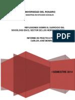 2014 Maestria en Estudios Sociales Carlos Monroy