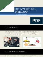 3.Tasa de Interés de Mercado