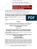 Ley de Justicia Alternativa DF_2017