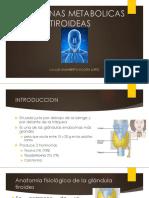 Hormonas Metabolicas Tiroideas