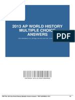 ID9a6d9ca91-2013 ap world history multiple choice answers