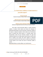 Taxonomy of interstate conflicts is South America peaceful region.pdf