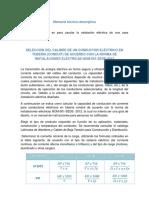 SELECCIÓN DEL CALIBRE DE UN CONDUCTOR ELÉCTRICO EN TUBERÍA.docx