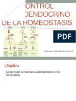 Control Neuroendocrino de La Homeostasis