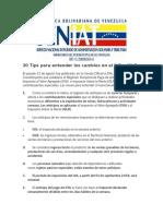 IVA 20 Tips Para Entender Los Cambios en El IVA e ISLR