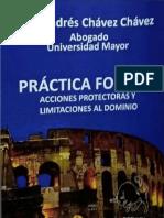 chavez chaves a - Practica Forense acciones protectoras y limitaciones al dominio.pdf