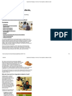 FDA 2010 Overview Food Ingredients Additives Colors