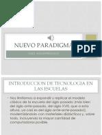 Inés Aguerrondo. Nuevo Paradigma