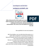 Office Professional Plus 2013 - Info