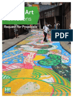 Department of Transportation Asphalt Art RFP
