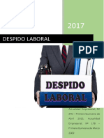 DESPIDO-LABORAL