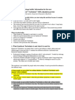Symbicort leaflet