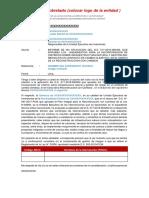 15. Modelo Informe de No Aplicacion Del Ds 017-Minan