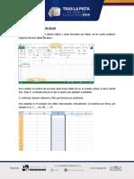 Partes de Un Archivo Excel