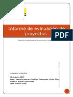 Evaluacion de Proyectos Desarrollo Final