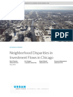 Embargoed Urban Institute Chicago Investment Flows Final Updated