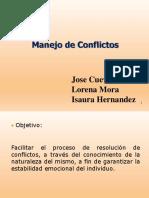 Manejo Conflictos Powerpoint